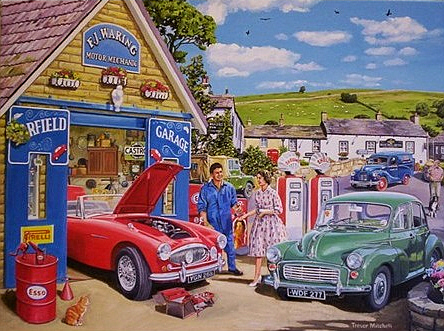 Motoring Themed Birthday Card 185