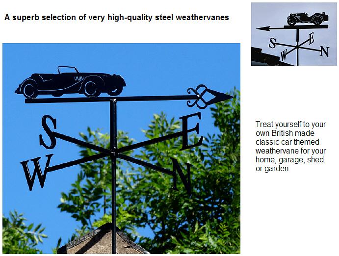 Classic Car Weathervanes